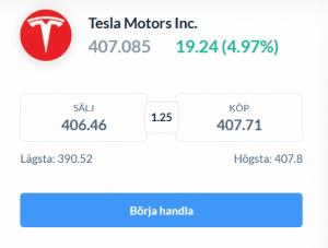 Korta Tesla